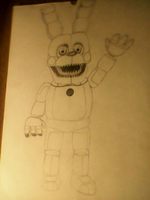 Here's the full body of Funtime Plushtrap! Enjoy!