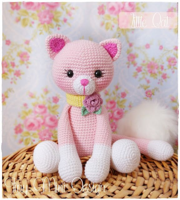 amigurumi cat pink pink amigurumi amigurumi kedicik h keltiere anleitung kostenlos. Black Bedroom Furniture Sets. Home Design Ideas
