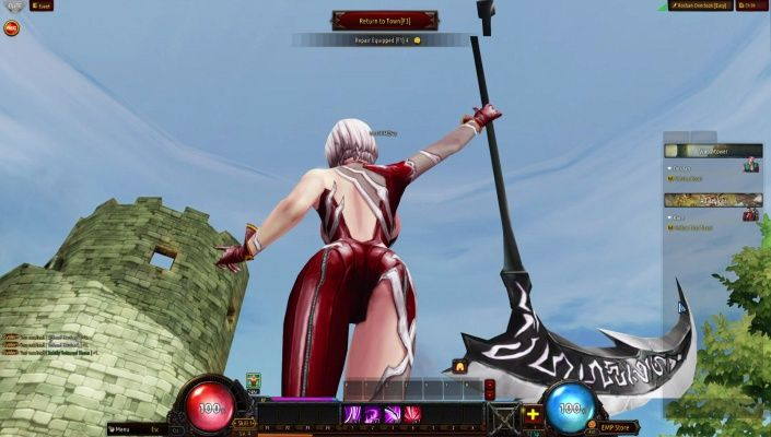 Kritika Online is a Free-to-play Action Role Playing Multiplayer Game featuring a unique cel-shaded art style over-the-top animations, and a fast-paced combo system that turns the MMO genre on its head