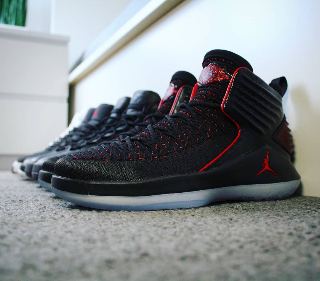 0e8e304a9ab Go check out my Air Jordan 32 Banned on feet channel link in bio. Shop