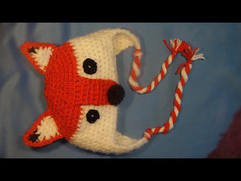 Gorro sorrito/ fox hat - YouTube | Croché | Pinterest | Youtube ...