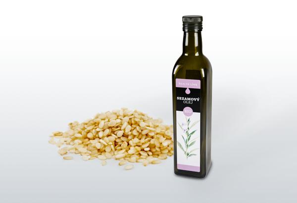 Sezamový olej BIO 500ml
