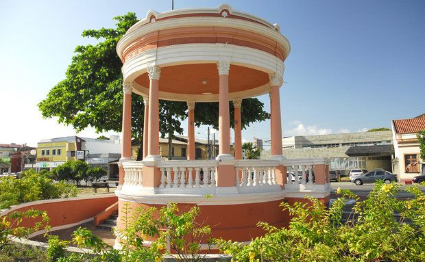 Maceió, Alagoas, Brasil - coreto da Paz