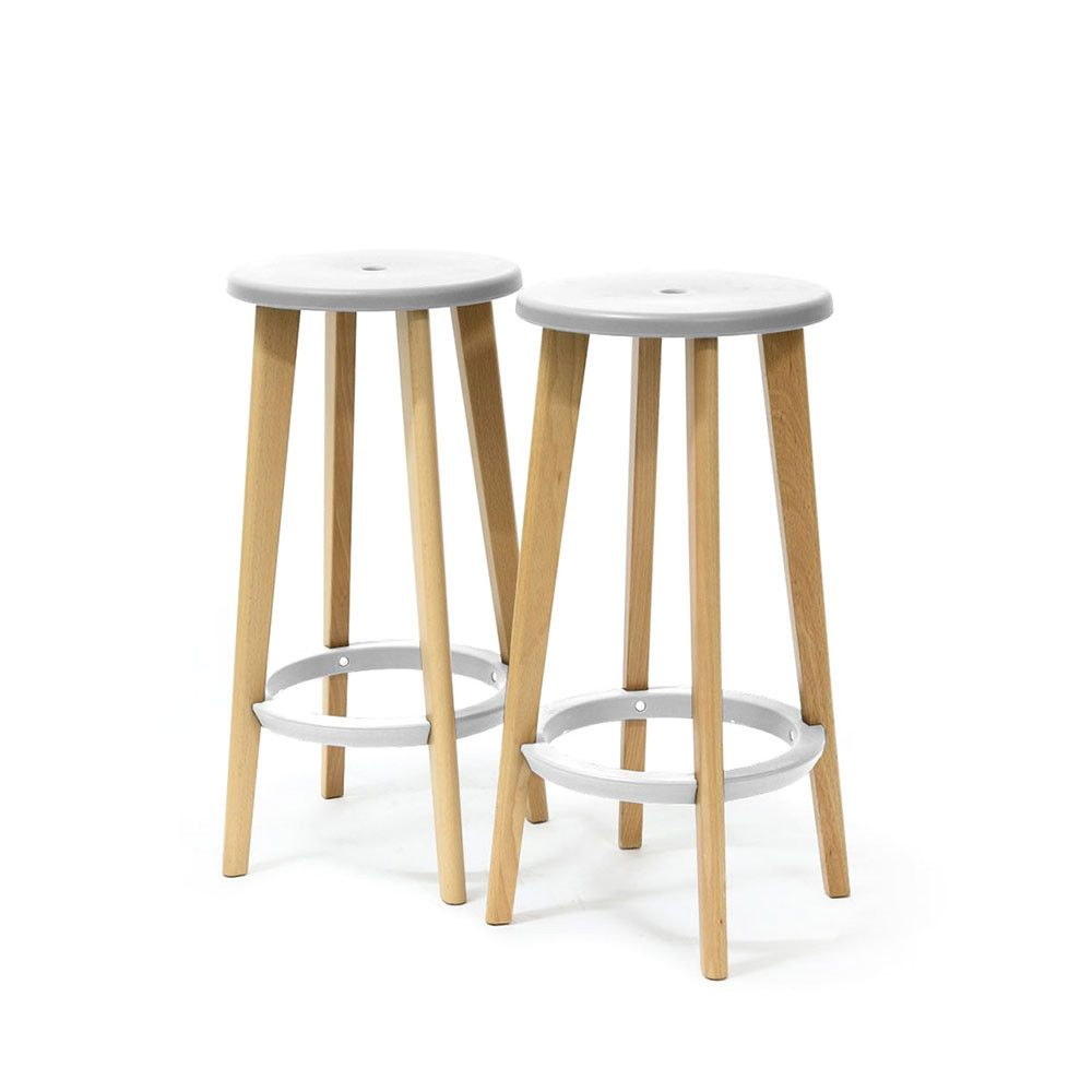 Lot De 2 Tabourets De Bar Blanc 2 Tabourets De Bar 68cm Drawer Harry S Chambre Enfant Best Of