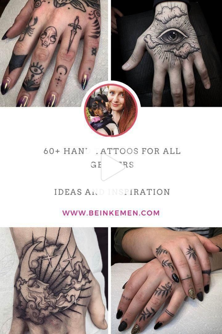 Hand Tattoos for All Genders | Advice and Inspiration - Bein Kemen