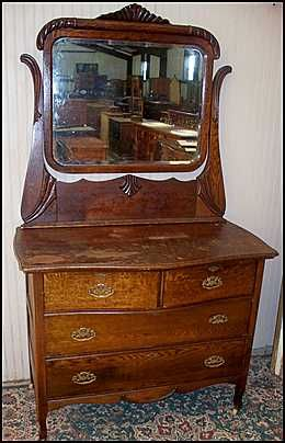 Dresser Mirror Antique