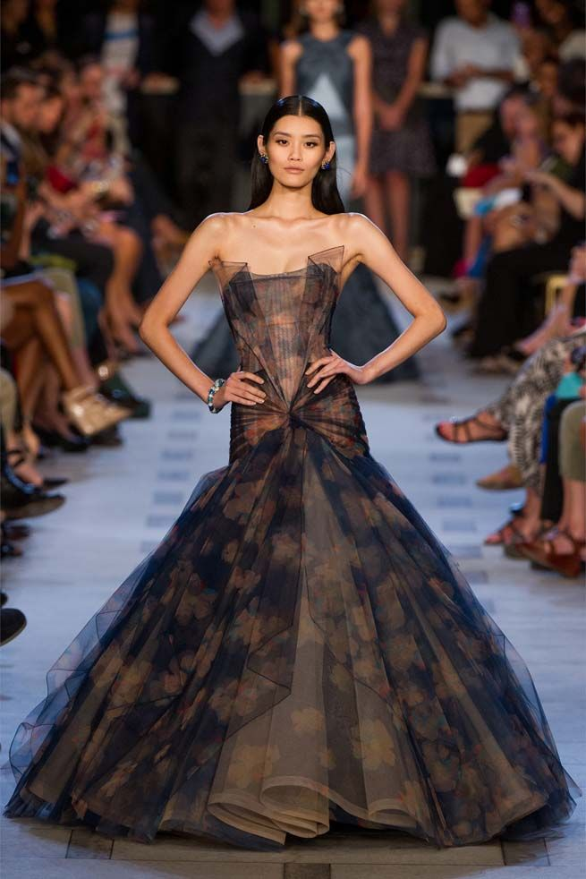Zac Posen Spring Summer 2013 Ready to Wear Evening Gown Collection ...