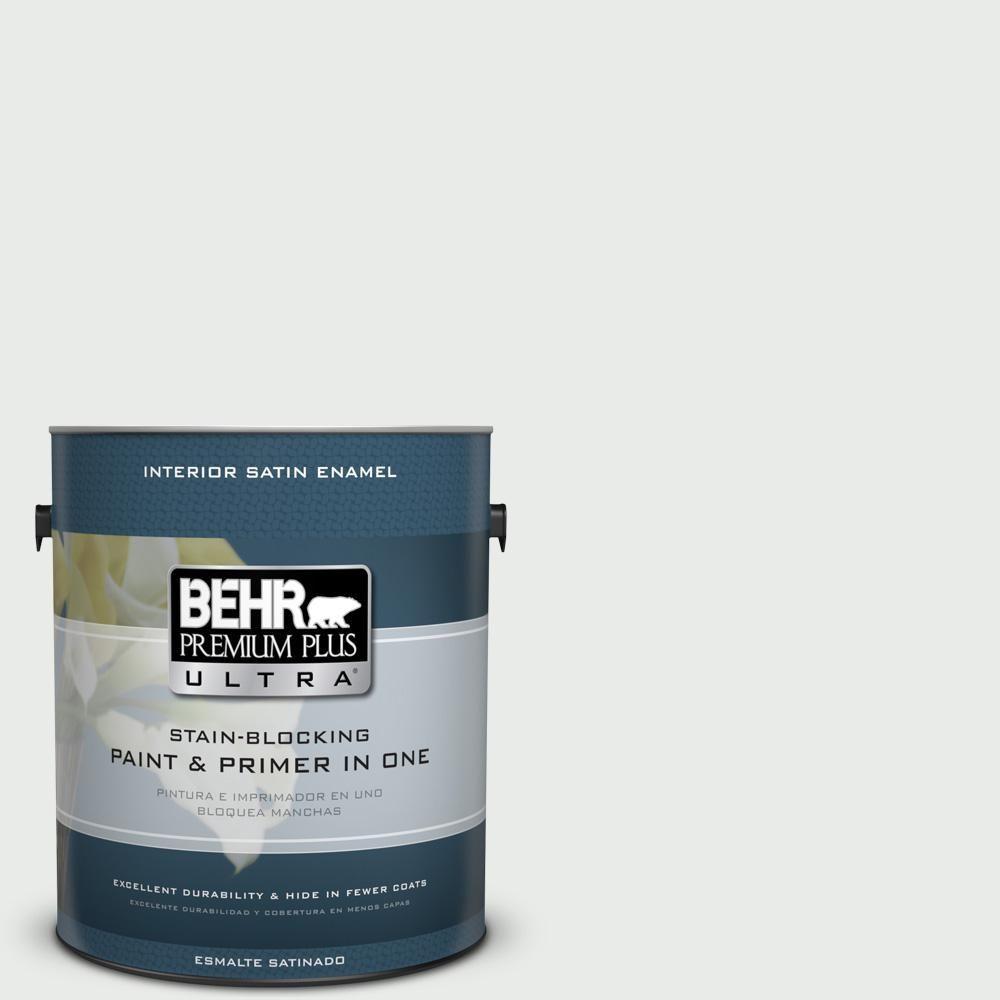 BEHR Premium Plus Ultra 1 gal. #PPU25-12 Minimalistic Satin Enamel Interior Paint