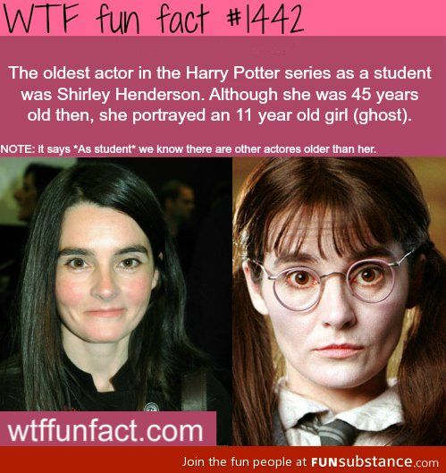 Fun Harry Potter Fact Funsubstance Harry Potter Facts Potter Facts Fun Movie Facts