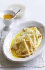 Crêpes with orange sauce - for more healthy recipes join my group at: www.facebook.com/groups/gettinghealthywithlexie