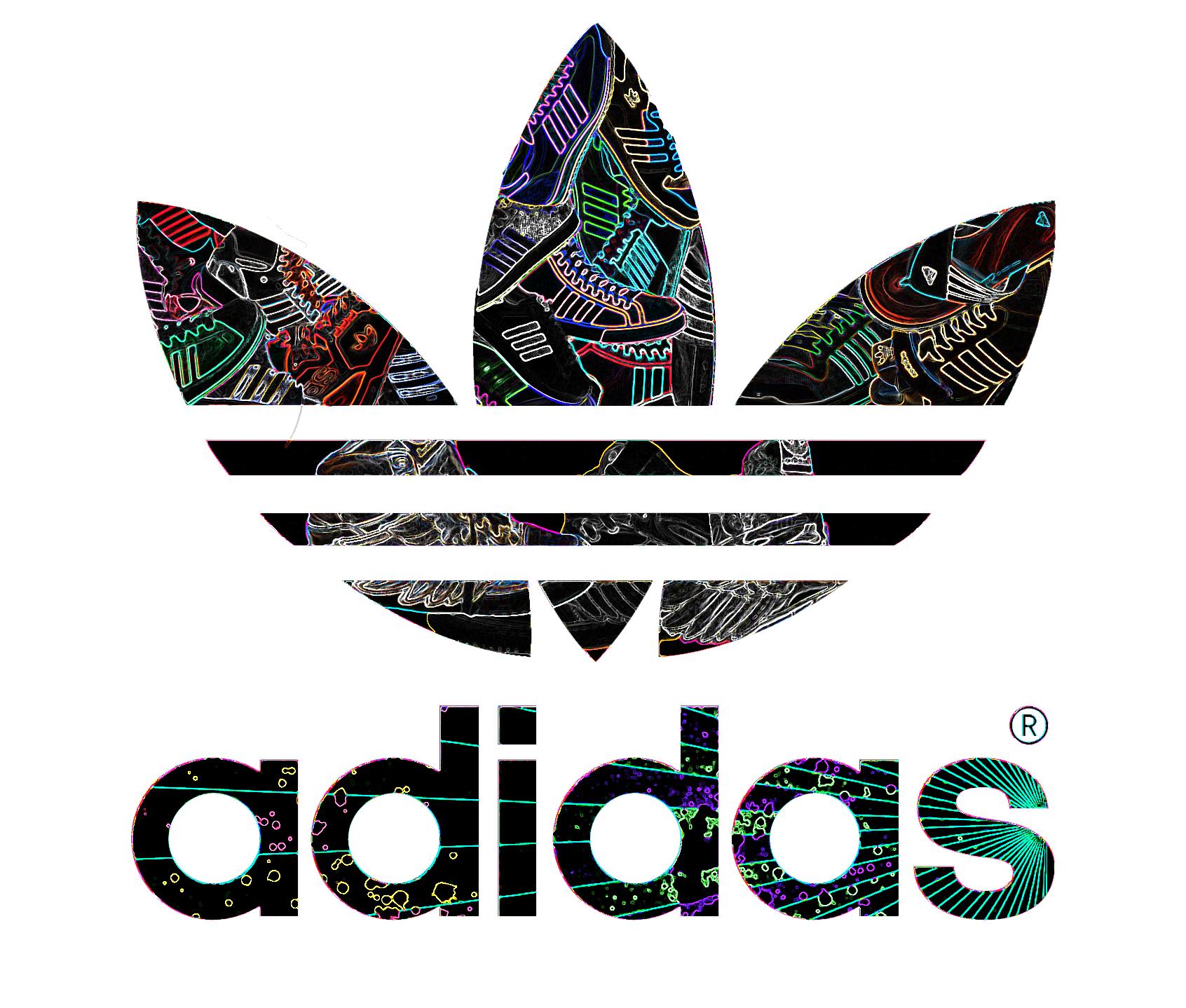 adidas_by_kil3y.png (1692×1438) Adidas logo art, Adidas
