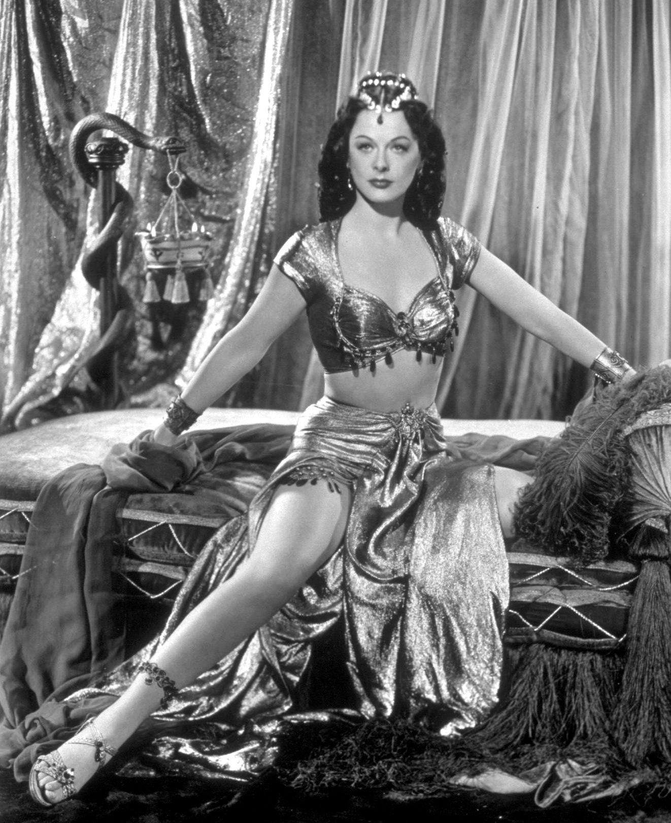 Hedy Lamarr as Delilah #classicactresses