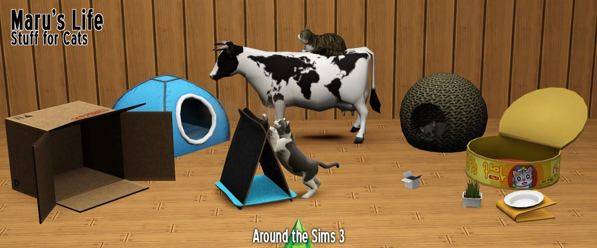 Around The Sims 3 Maru S Life Stuff For Cats Stuff For Kitties