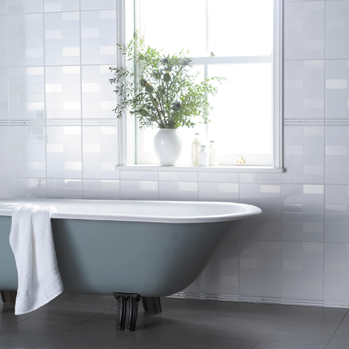 Bellow we give you english glossy white bathroom wall tile large ...