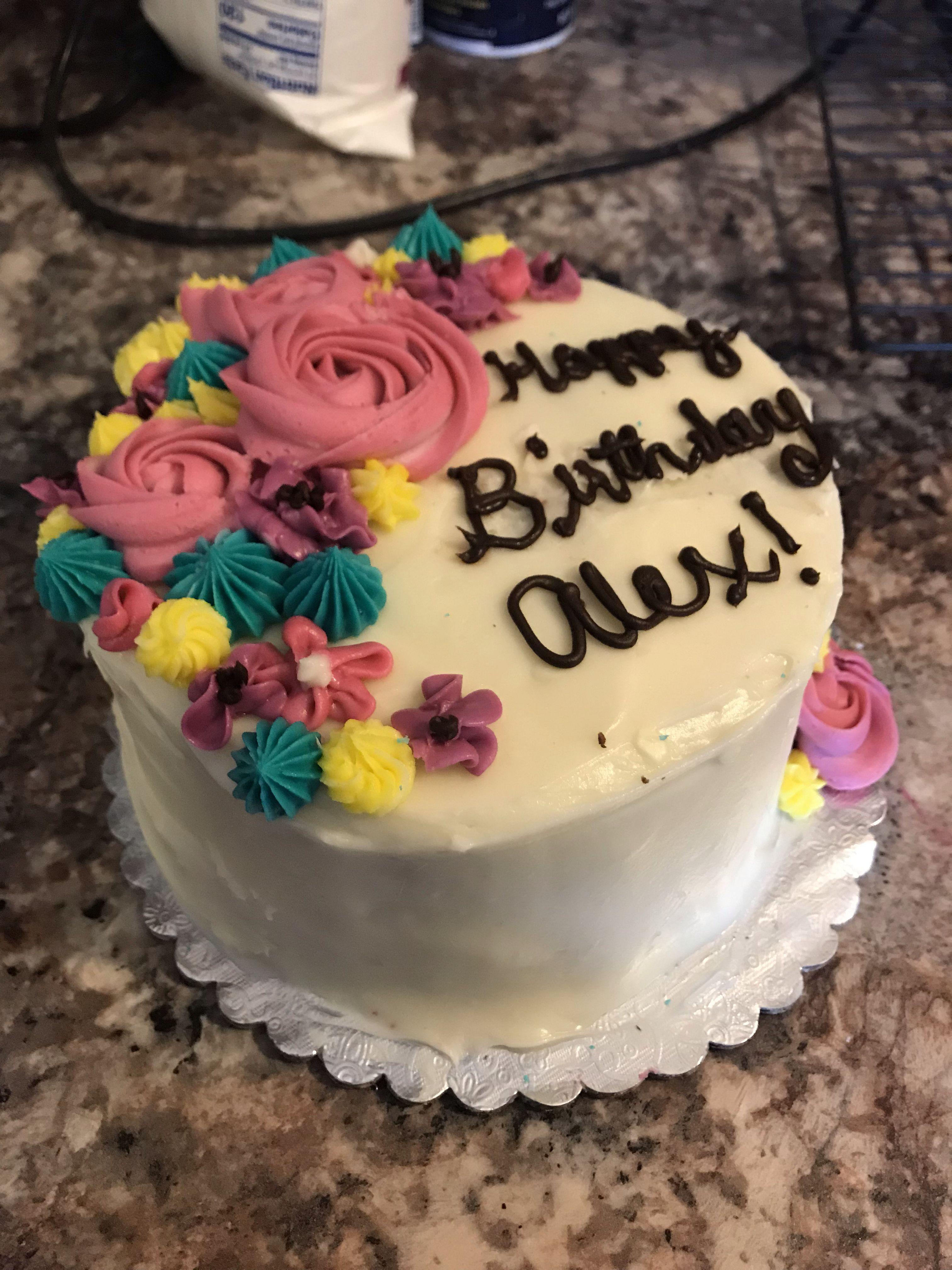 Flower birthday cake cake birthday cake with flowers