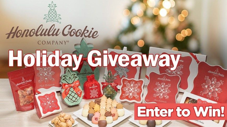 Pin By Giveaways And Sweepstakes On Us Giveaways Honolulu Cookie