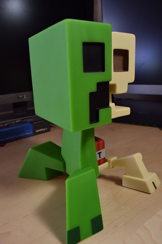 The Minecraft Creeper Anatomy Doll Answers So Many Questions ...