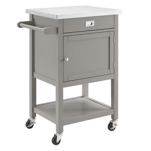 Found It At Wayfair Sydney Kitchen Cart With Stainless Steel Top