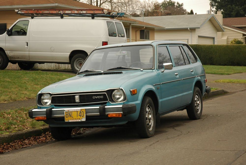 I Want To Be The Person Who Lives In Oregon And Drives This Car 1978 Honda Civic Wagon