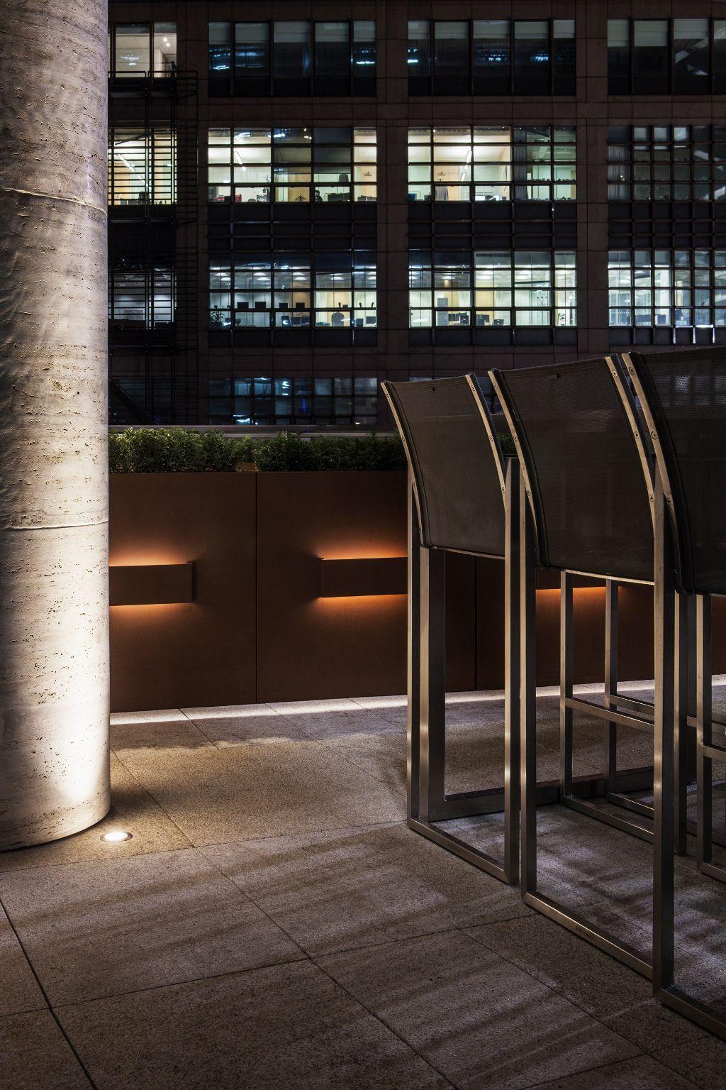 Yauatcha City (Broadgate Circle, London) Nulty+ Lighting - Restaurant & Bar Design