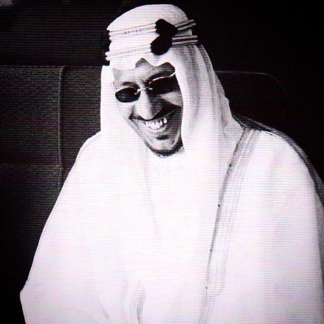 King Saud Bin Abdulaziz Saudi Men King Queen Face Art