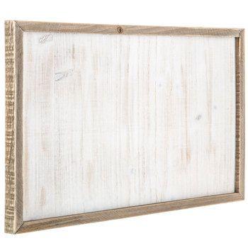 Whitewash Framed Wood Wall Decor Wood Wall Decor Barn Wood