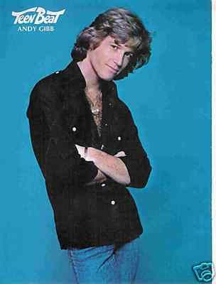 Andy Gibb Pinup Come Home For The Winter In The End With Images