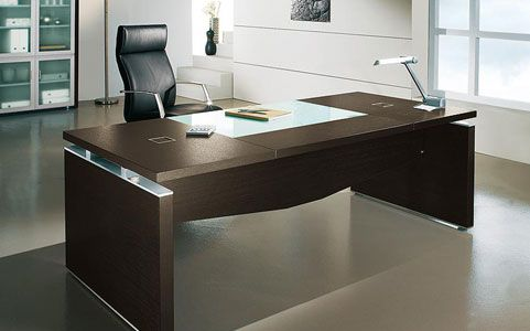 Exellent Modern Executive Office Desks Desk Intended Design Decorating