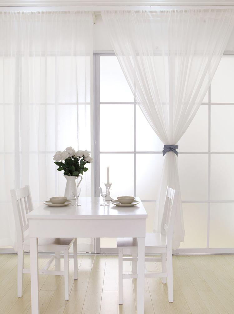 Cortinas blancas modernas buscar con google decoracion pinterest cortinas cortinas - Cortinas interiores casa ...