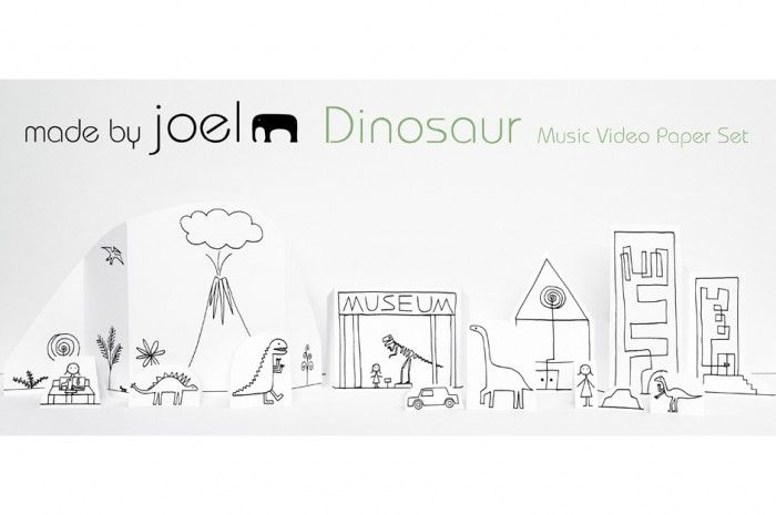 Made by Joel » Dinosaur Paper City playset - free to print