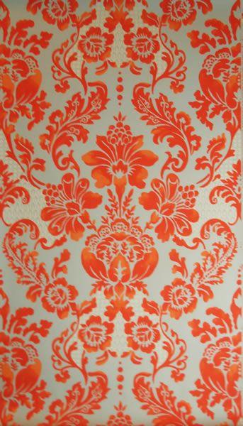 'Palais' (blood orange) wallpaper by Tyler Hall