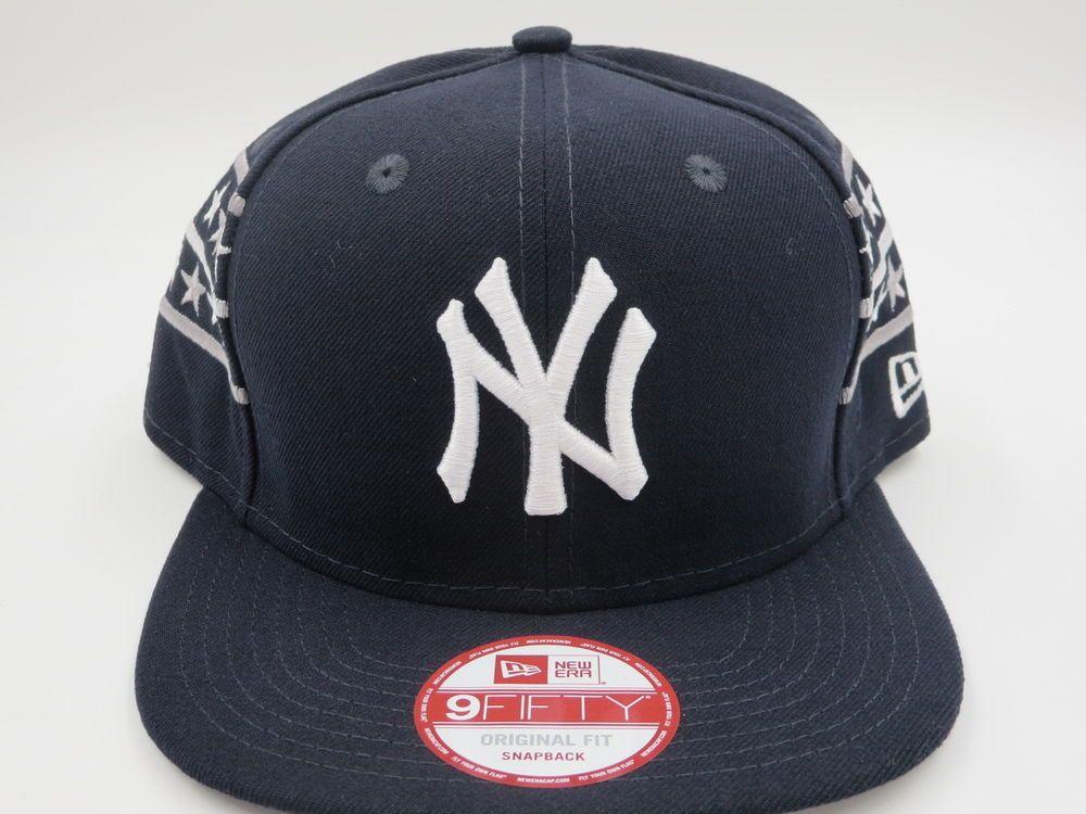 301f0cbac743ce NY Yankees Blue Throwback New Era 9FIFTY Custom MLB Stars Snapback Hat Cap  #NewEra #NewYorkYankees