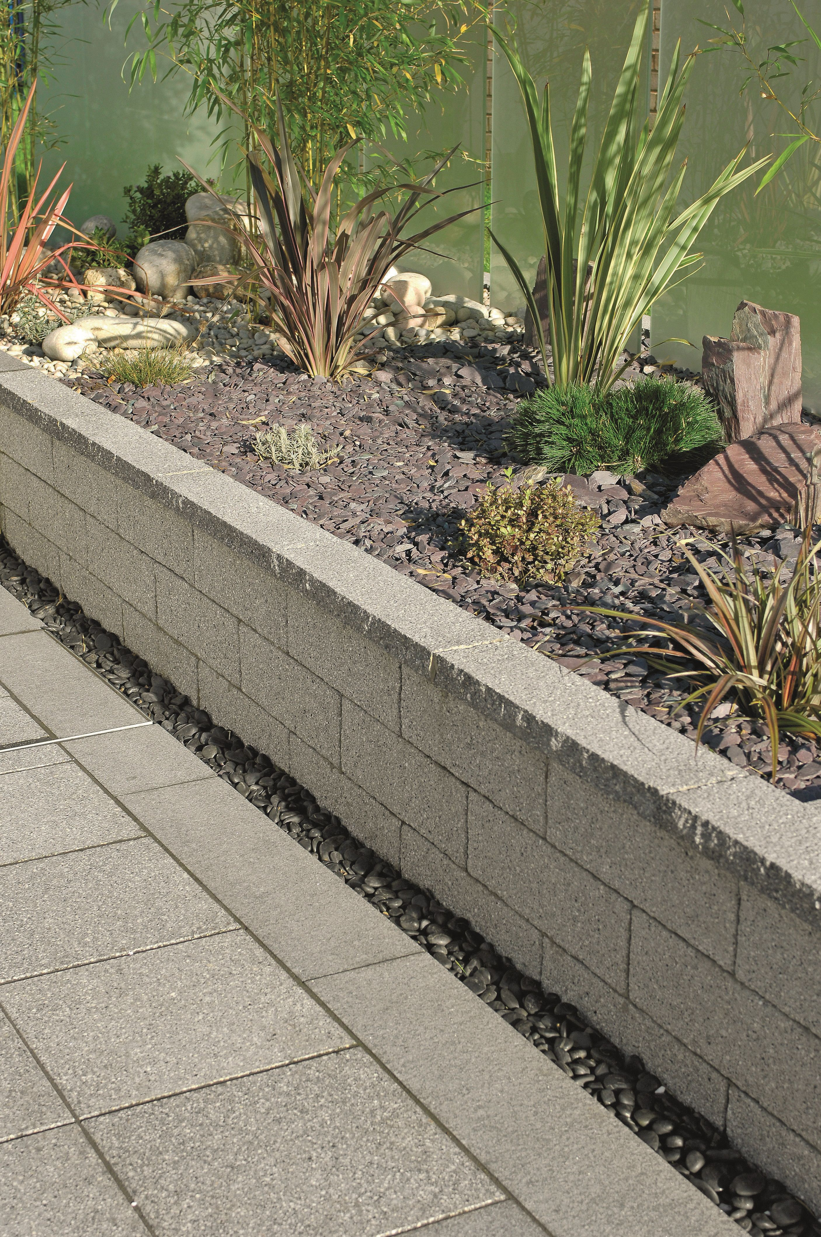 Match Your Walling To Your Paving To Create Seamless Finish To