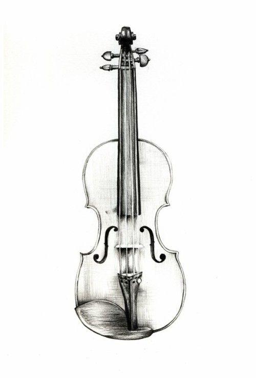 Drawings Arte Do Violino Tatuagem De Violino E Desenho De Violino