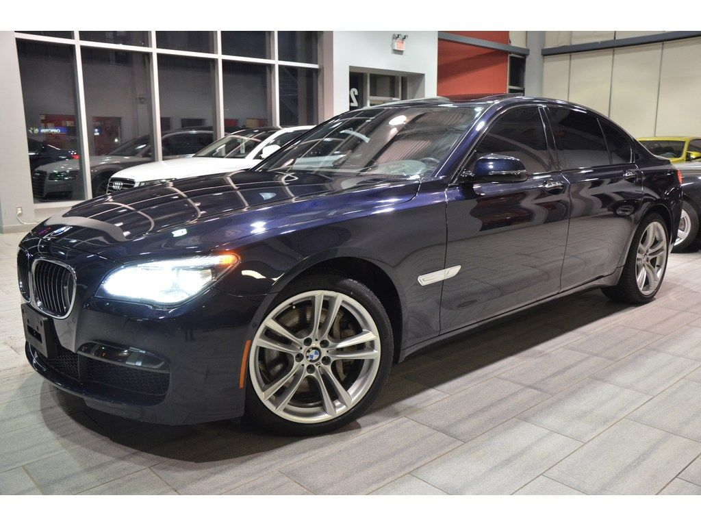 For Sale! 2014 BMW 750i xDrive finished in Imperial blue