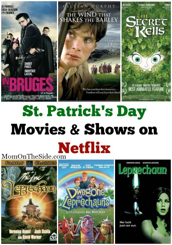 St. Patrick's Day Movies and Shows on Netflix   St patrick's day ...