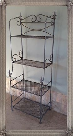 St8 Four Tier Stand Products Pretoria East 4seasons4u Wrought Iron Garden Accessories Pretoria East Garden Accessories Tiered Stand Wrought Iron