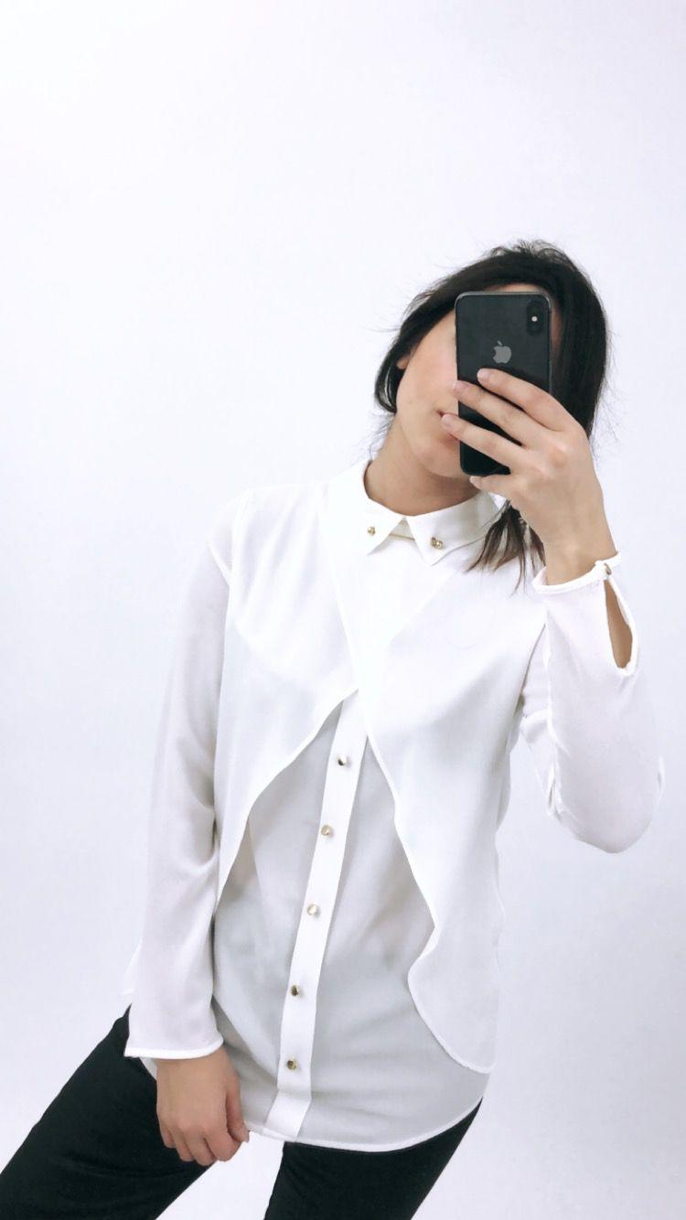 Modamonna Adli Kullanicinin Gomlek Bluz Panosundaki Pin Bluz Gomlek