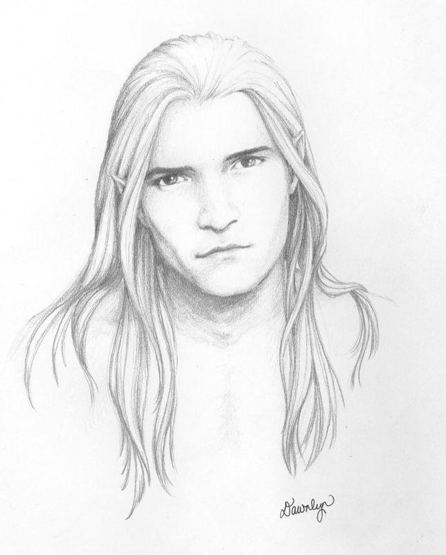Legolas   Elf drawings, Legolas, Tolkien art