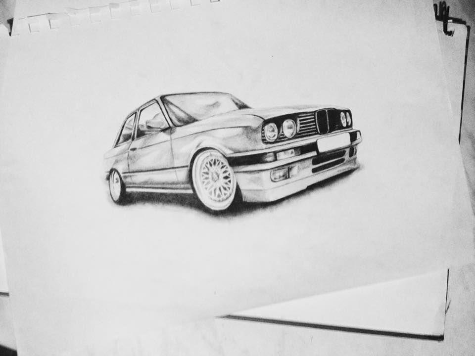 Custom Car Drawing Size A4 8 3 X 11 7 Car Portrait Etsy Car Personalization Car Drawings Car