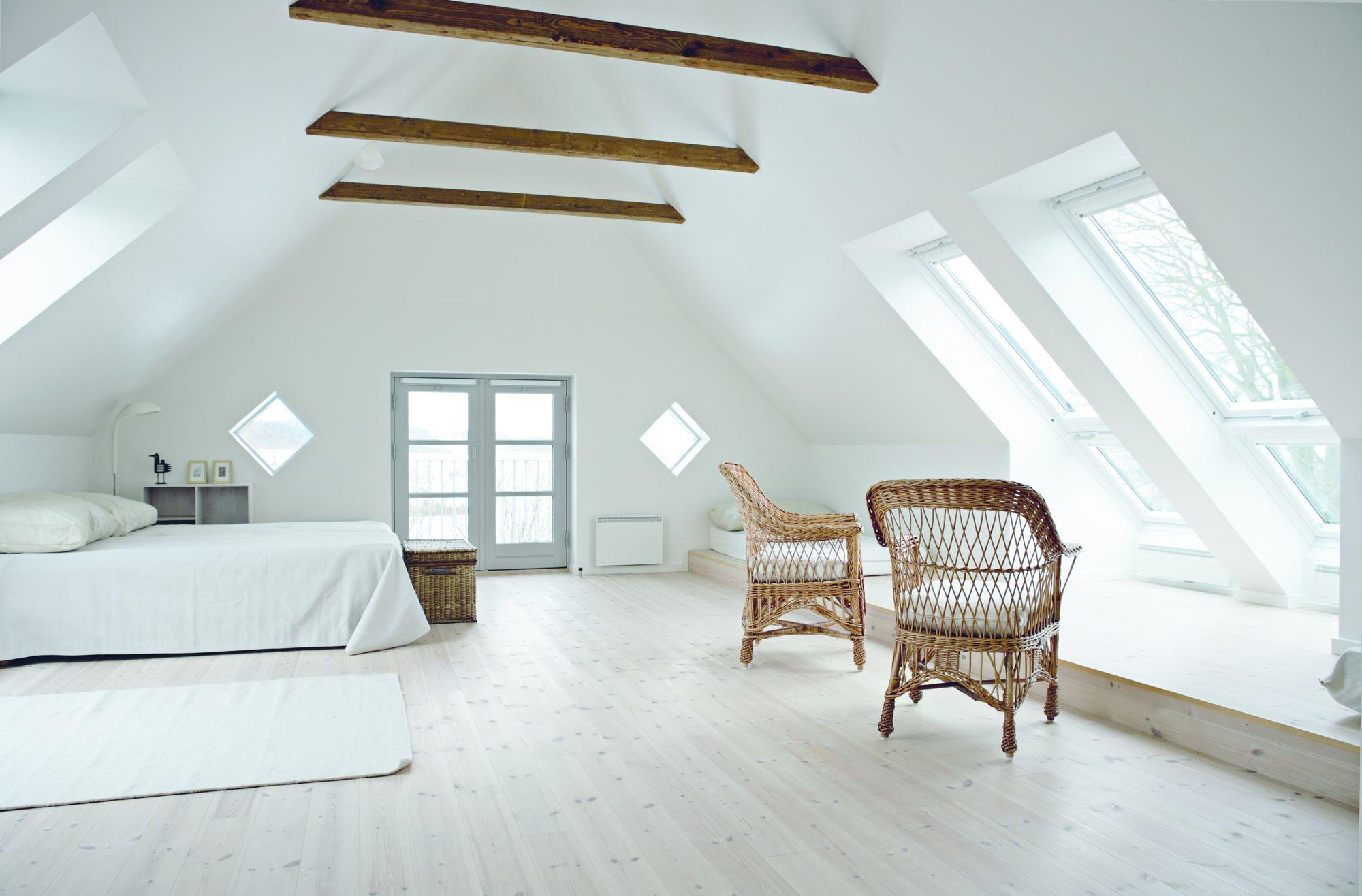 Come scegliere una finestra per tetti travi a vista muebles dormitorio interiores e aticos - Finestra a bovindo ...