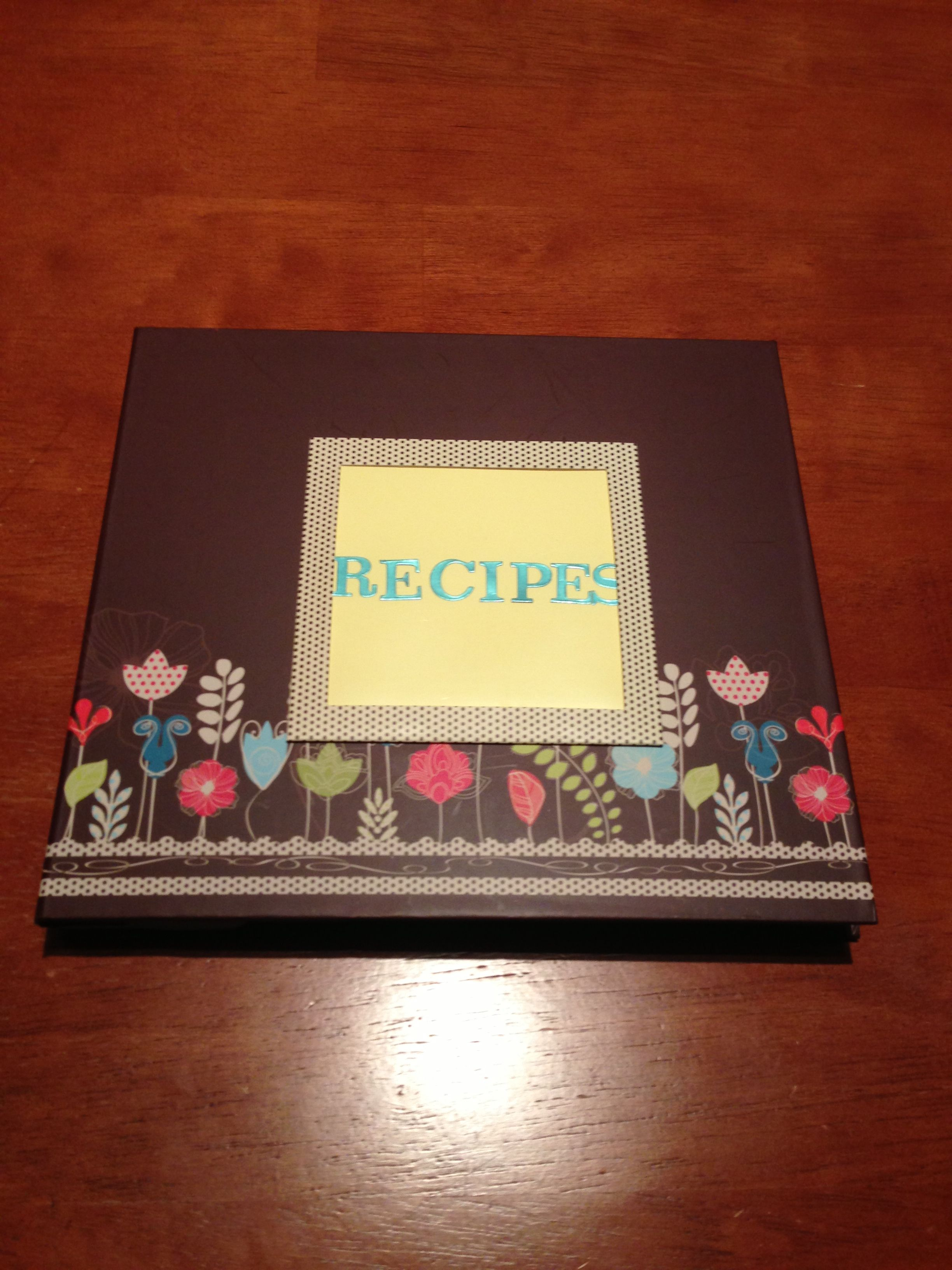 Housewarming Gift For Sister Homemade Recipe Book Housewarming Gift For My Sister