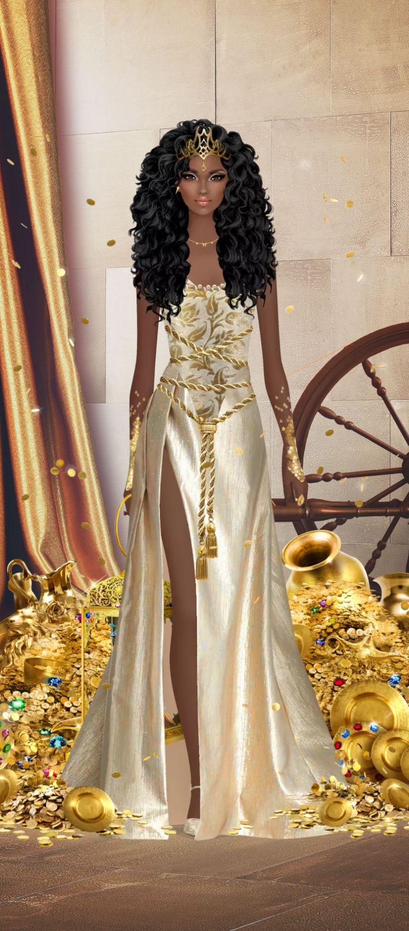 Pin By Felice Navidad On Fantasy Story Fantasy Dress Fashion Fashion Illustration [ 1844 x 810 Pixel ]
