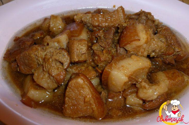 Resep Babi Kecap Resep Babi Kecap Spesial Club Masak Resep Babi Makan Malam Resep