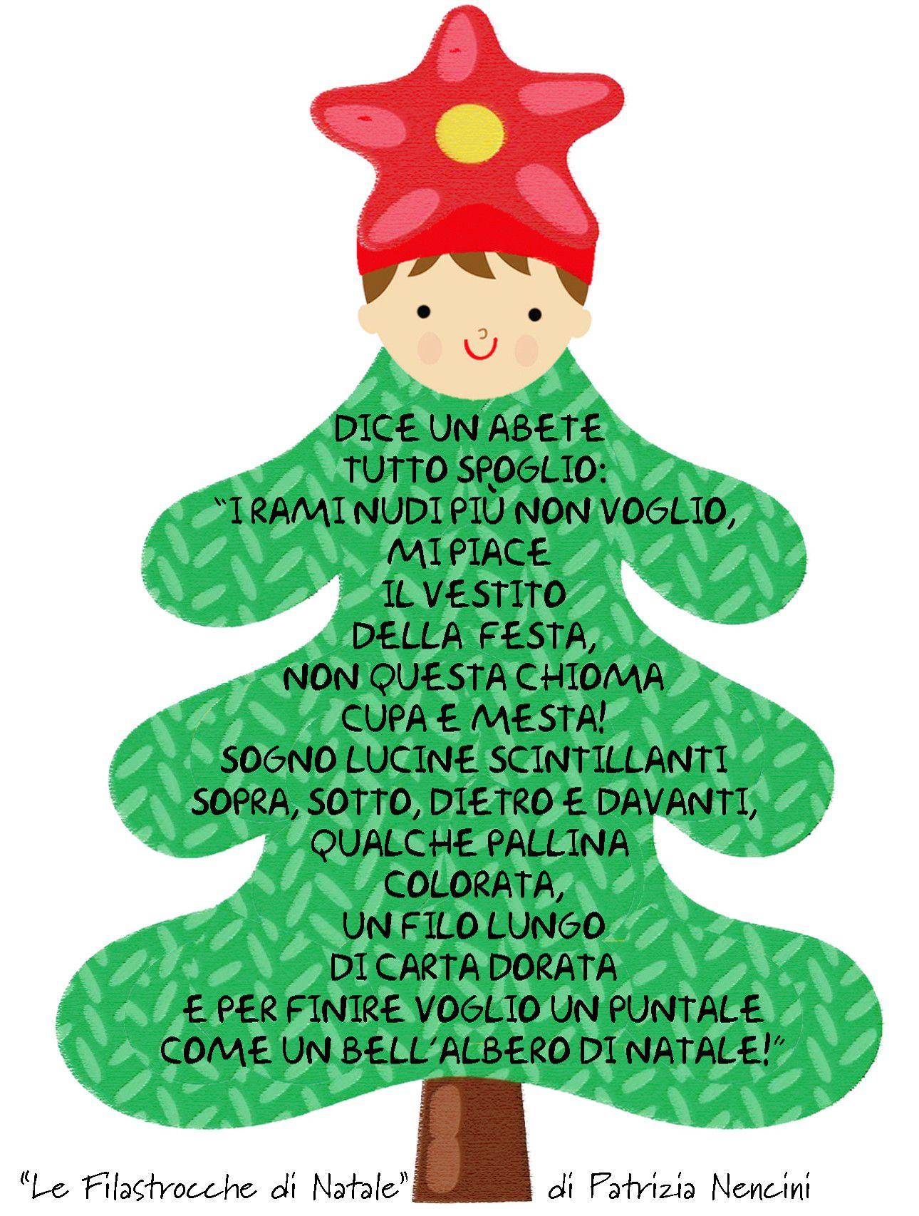 Poesie Di Natale In Rima.Filastrocche Rime Creativita Patrizianencinidee Natale 2017 Natale Bambini Di Natale Filastrocche