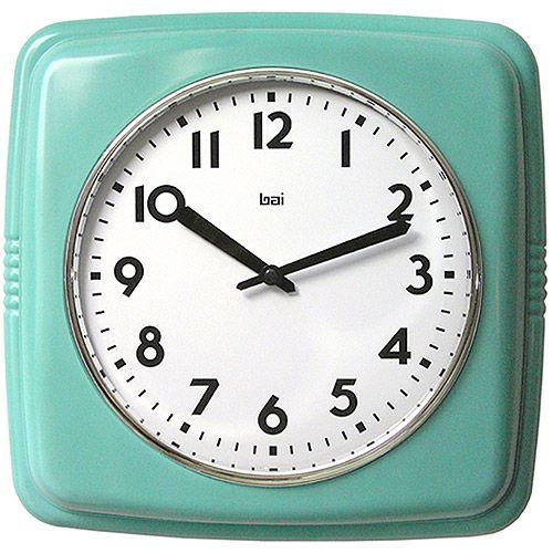 Walmart Bai Design Cubist Retro Modern Wall Clock Wall Clock Modern Square Clocks Retro Wall Clock