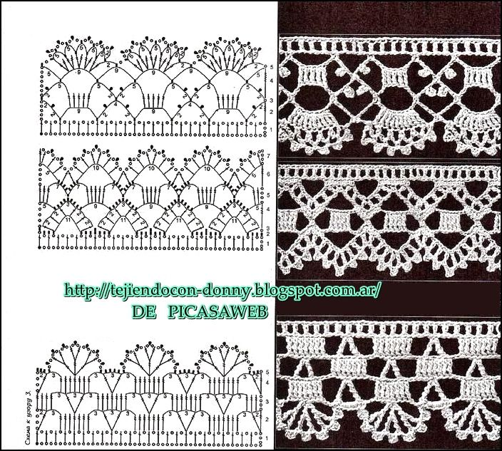 PATRONES - CROCHET - GANCHILLO - GRAFICOS: crochet | crochet ...