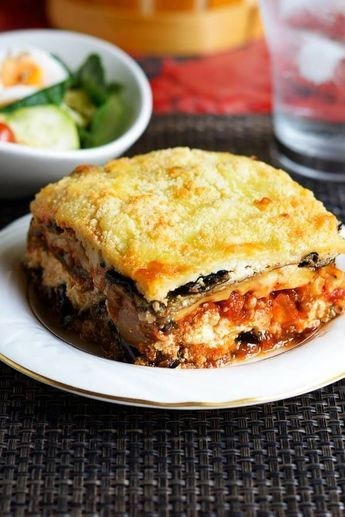 Photo of Low carb lasagna with zucchini and eggplant