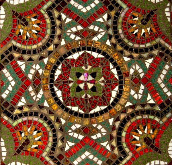 Mosaic Tile Art Deco Style