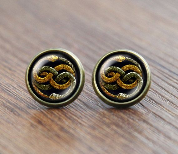 Never ending story two snake earrings jewelry neverending story never ending story two snake earrings jewelry neverending story bastian atreyu gmork falkor fantasia vintage mozeypictures Choice Image